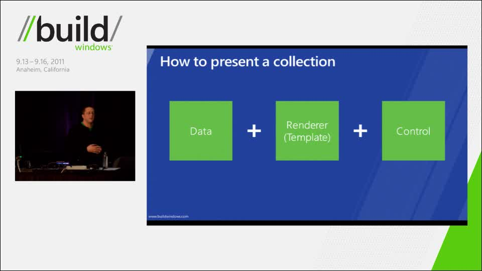 Build data-driven collection and list apps using ListView in HTML5