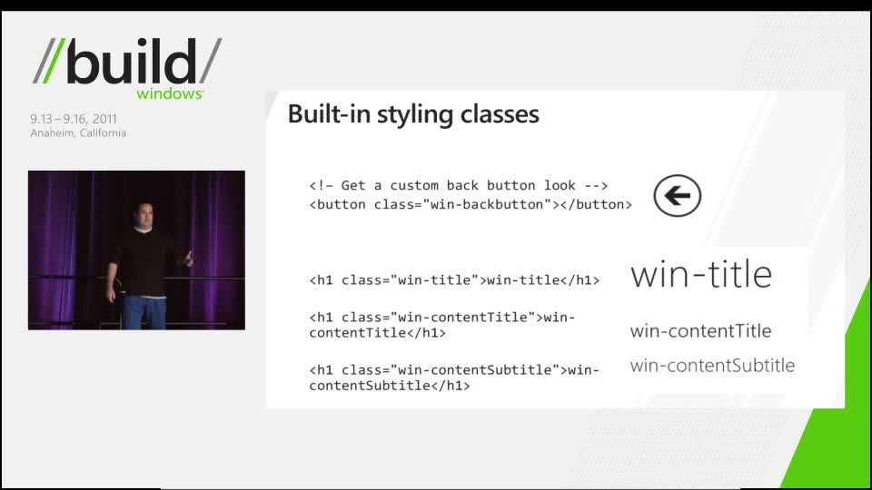 Stand out with styling in your HTML app