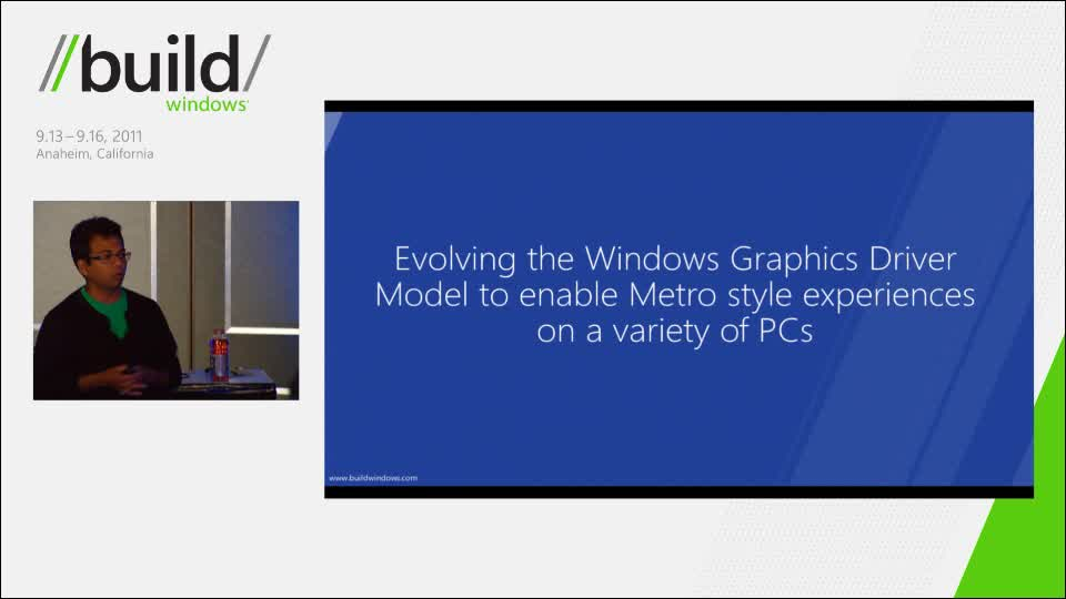 Understanding the Windows 8 graphics driver model