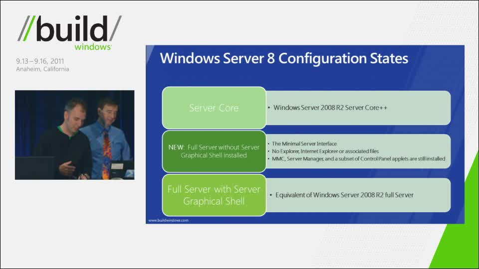 Windows Server 8 apps must run without a GUI - learn more now