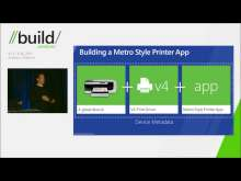 Building a great Metro style device app for your printer