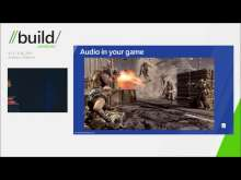 Compelling audio and video for Metro style games