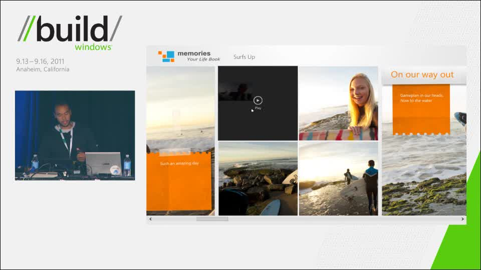 Integrating stunning media experiences in XAML