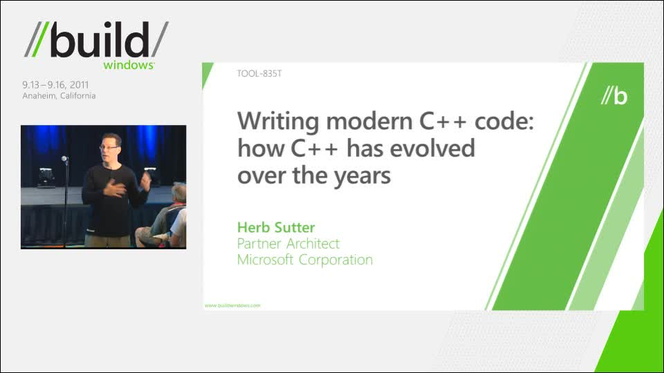 Writing modern C++ code: how C++ has evolved over the years