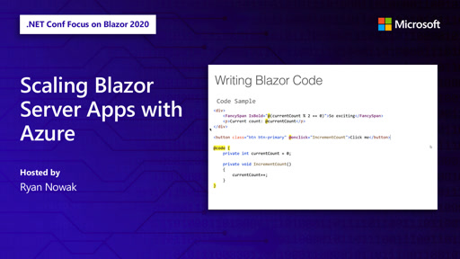 Scaling Blazor Server Apps with Azure