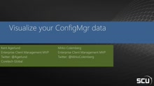 Visualizing your Configuration Manager 2012 R2 SP1 data