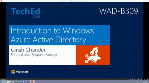 Introduction to Windows Azure Active Directory