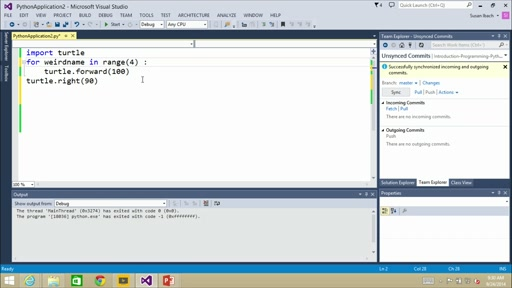 Introduction to Programming with Python: (08) Repeating Events