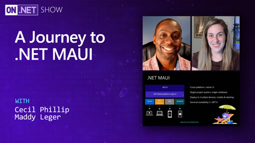 A Journey to .NET MAUI
