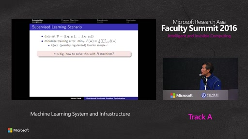Machine Learning System and Infrastructure
