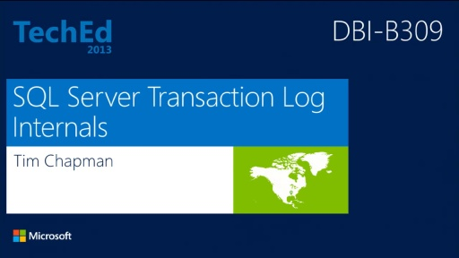 Microsoft SQL Server Transaction Log Internals