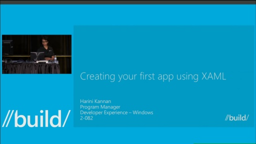 Creating Your First App Using XAML
