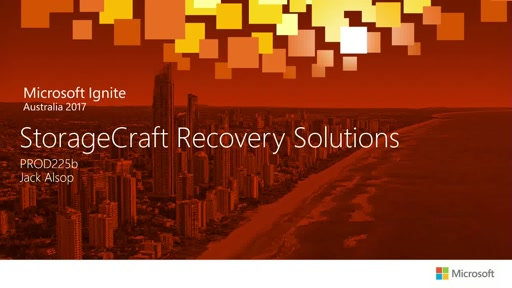 Introduction to StorageCraft Recovery Solutions – who we are, what we do