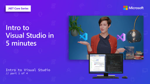 Intro to Visual Studio in 5 minutes [1 of 4]