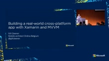 Creating a real-world cross-platform Xamarin app using MVVM