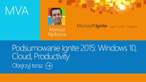 03  Ignite 2015: Cloud i Productivity