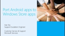 How to Port Android apps to Windows Store apps