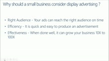 SMB Solution: Boost Your Marketing with Office 365: (03) How to Create Display Advertising to Promote Your Business