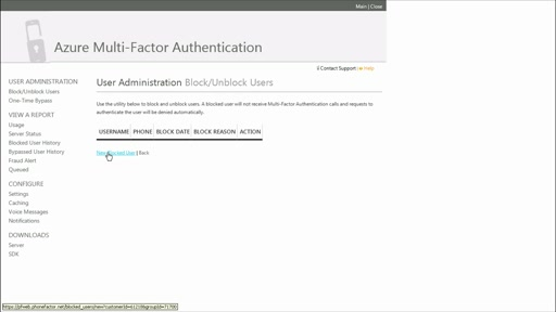 Azure Multi-Factor Authentication: (03) General Overview of Azure MFA Management Portal