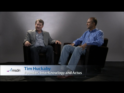 Bytes by MSDN: Vishwas Lele and Tim Huckaby discuss New Features in Windows Azure