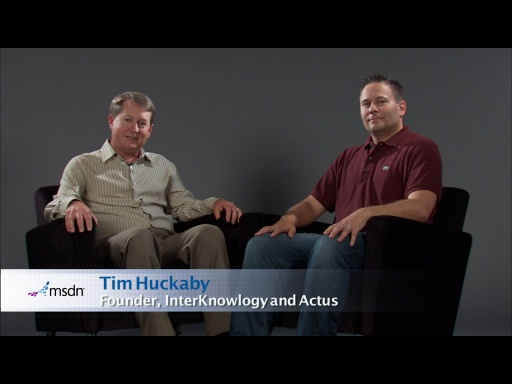 Bytes by MSDN: Stephen Forte and Tim Huckaby discuss Kanban and SQL Azure