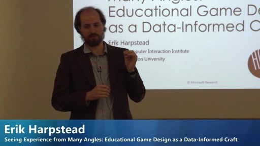 Seeing Experience from Many Angles: Educational Game Design as a Data-Informed Craft