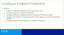 (Module 3) Configuring Endpoint Protection
