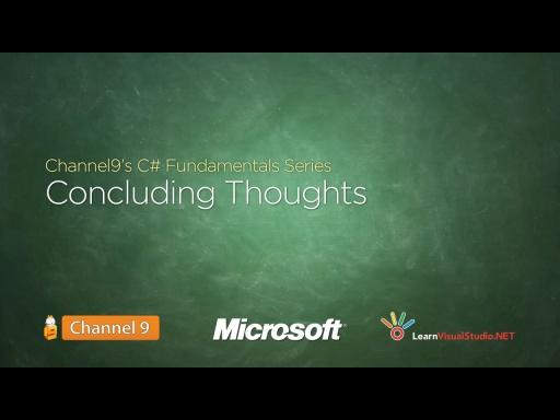 Concluding Thoughts - 25