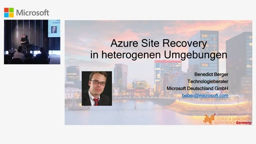 Azure Site Recovery in heterogenen Umgebungen