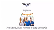 Microsoft's Joe Darko delivers Keynote on dev community @ Tampa Code Camp!