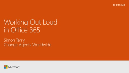 Work out loud with Yammer and Microsoft Office 365