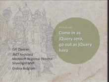 Web Camps Belgium Come in as jQuery zero, go out as jQuery hero