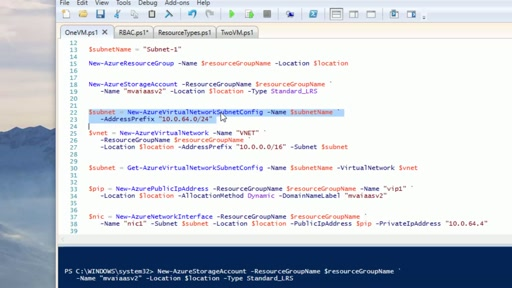 Resource Providers, Resources and Powershell