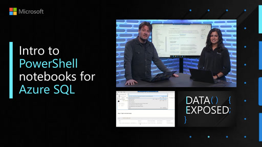 Intro to PowerShell notebooks for Azure SQL