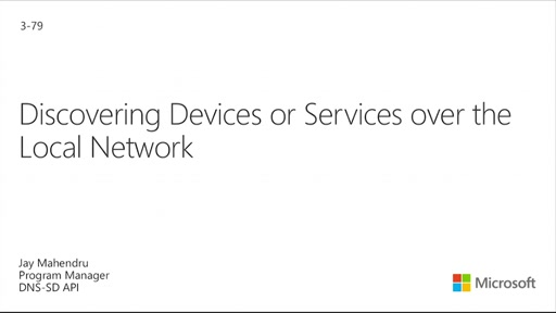Discovering Windows 10 Devices Over Wi-Fi: DNS-SD API
