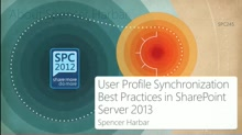 User Profile Synchronization Best Practices in SharePoint Server 2013