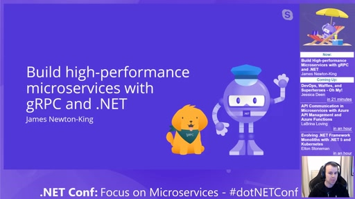 Build High-performance Microservices with gRPC and .NET