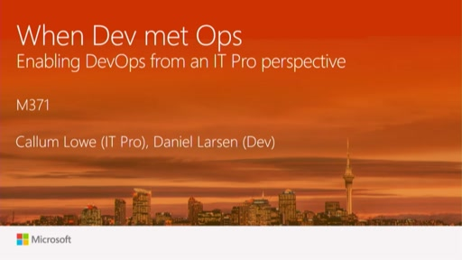 Enabling DevOps from an IT Pro perspective