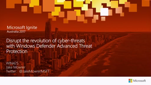 Disrupt the revolution of cyber-threats with Windows Defender Advanced Threat protection