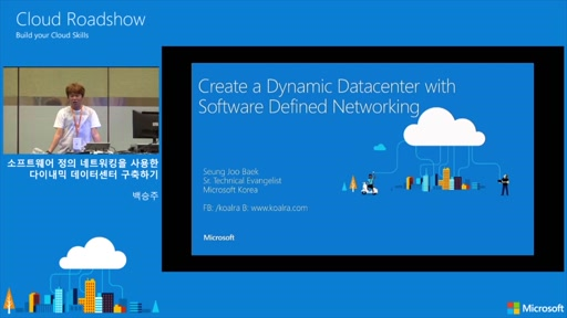 Create a dynamic datacenter with software defined networking