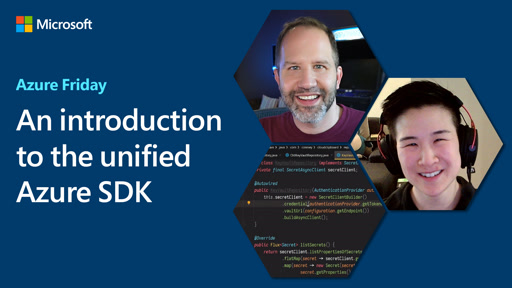 An introduction to the unified Azure SDK