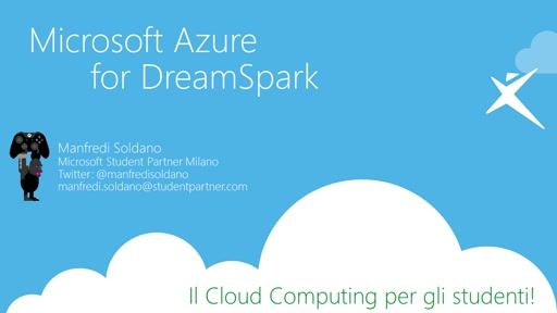 Il Cloud Computing per gli Studenti