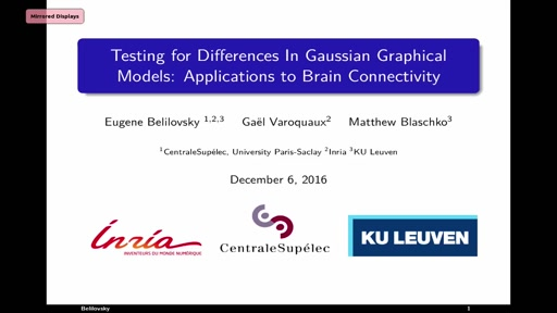Testing for Differences in Gaussian Graphical Models: Applications to Brain Connectivity