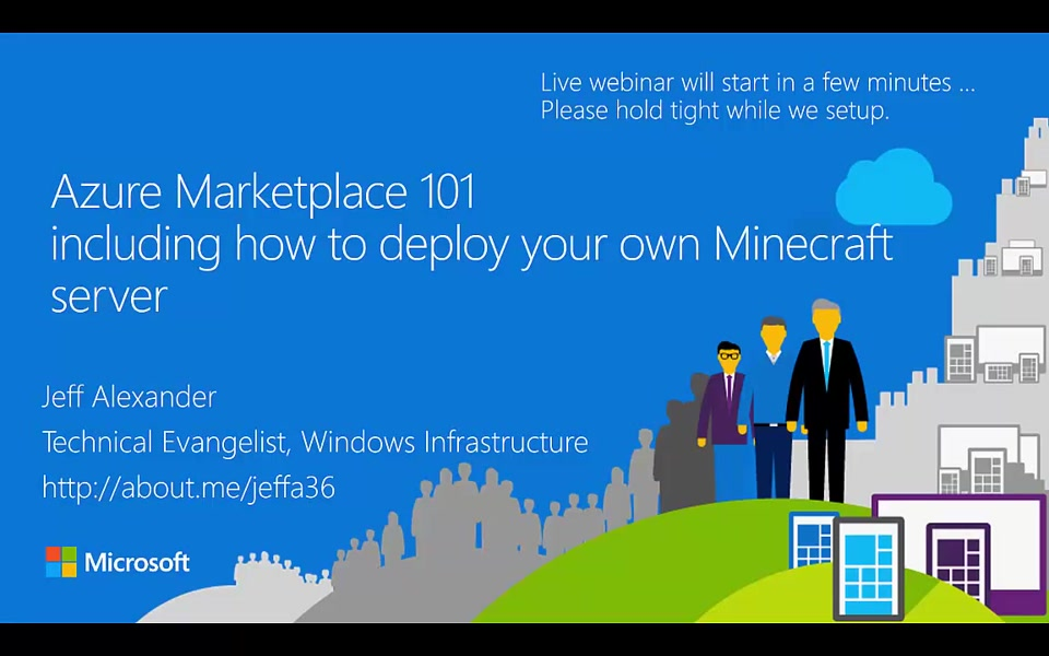 Azure Marketplace 101 - How to deploy your own Minecraft server