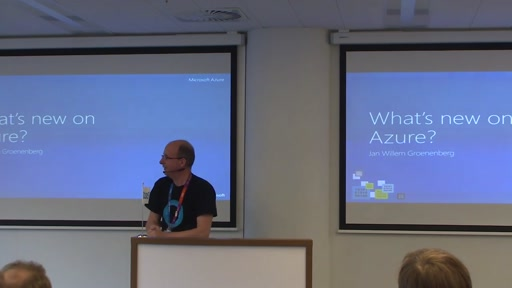 GBAC2016 - What is new on Azure