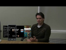 Matthias Shapiro Lead Developer of Shop Savvy - Experience developing for Windows Phone 7
