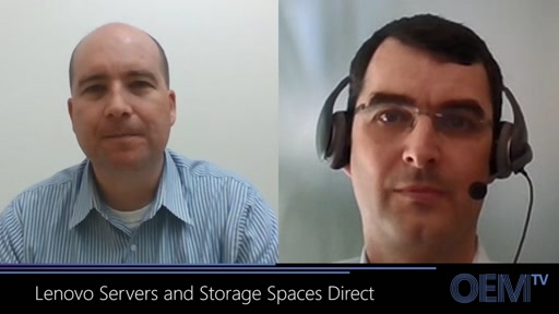 Lenovo Works with Microsoft on Pre Validated Storage Spaces Direct Configurations