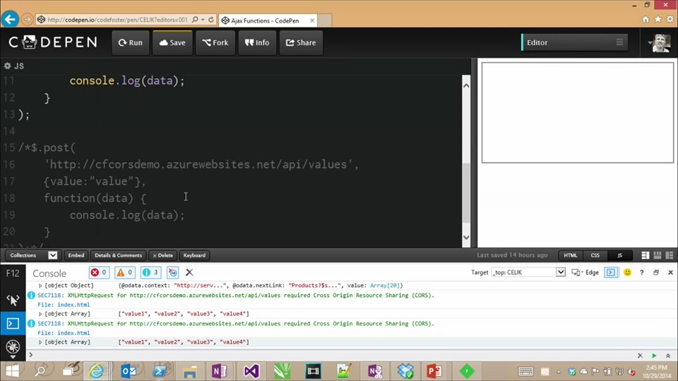 Introduction to jQuery: (06) Ajax and Async