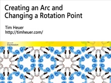 Creating Arcs and Changing Centers with Expression