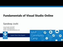 Fundamentals of Visual Studio Online.